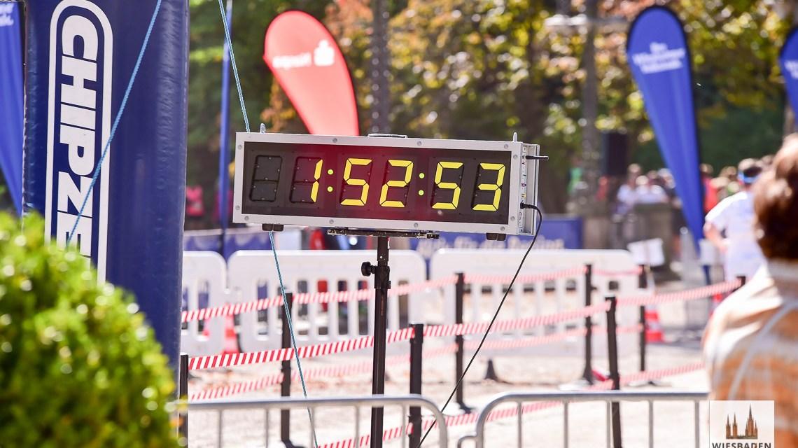 Startschuss zum 25 Stundenlauf, keine 24 Stunden mehr