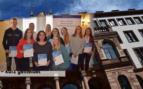 Ein Praktikum stärkt die Chancen auf dem Arbeitsmarkt. ©2018 Stadt Wiesbaden