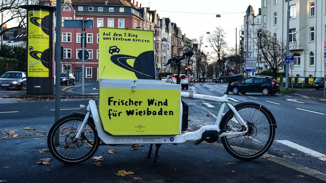 Stadt startet Umweltkampagne am 2. Ring. Eine bessere Verkehrsführung soll weniger Autos in die Innenstadt bringen. ©2018 Volker Watschounek