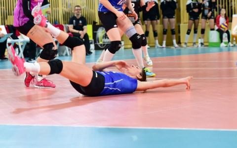 Volleyball-Bundesliga Damen   2018.2019   7. Spieltag   VC Wiesbaden - Ladies in Black Aachen   1:3