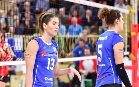 1. Volleyball Bundesliga, 13. Spieltag, 2018.2019, VC Wiesbaden - Allianz MTZ Wiesbaden, 0:3