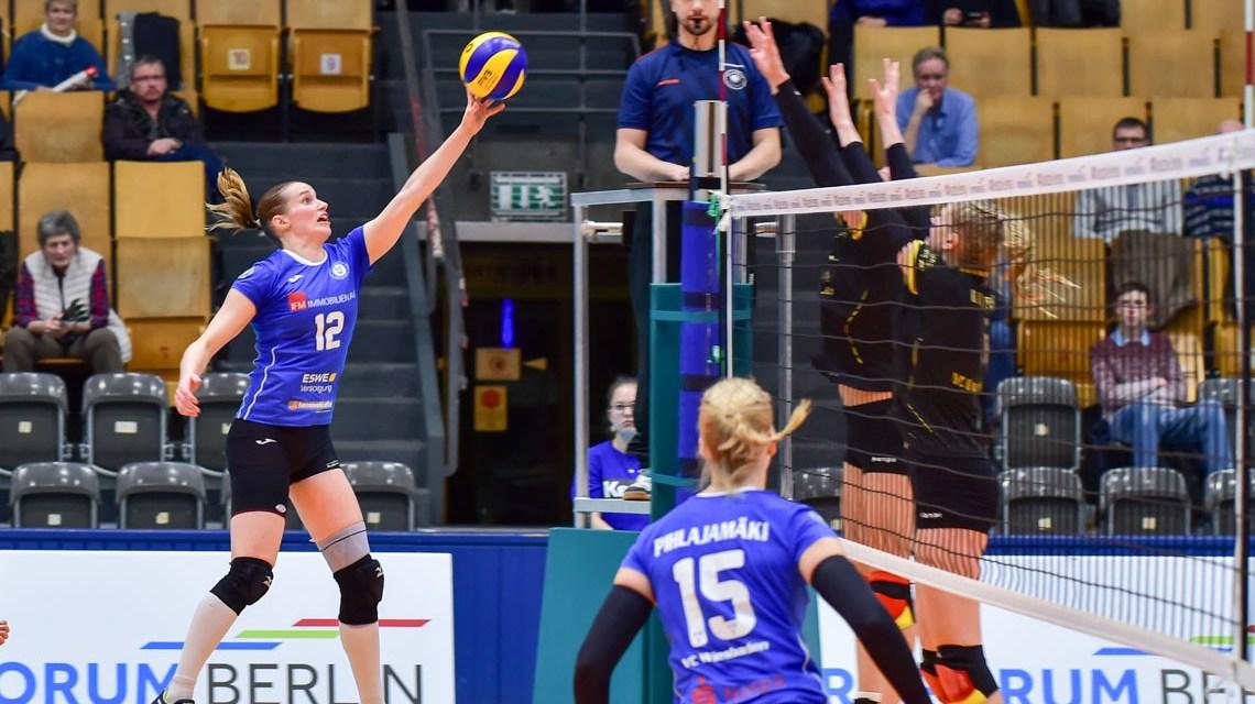 VCW gewinnt gegen Berlin und hat Potsdam vor Augen