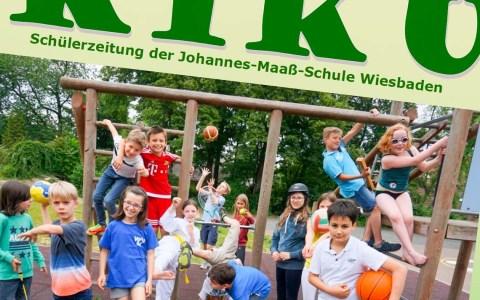 Die Schüler der Johannes-Maaß-Schule sind kreativ und haben eine super Schülerzeitung. ©2018 Webseite der Johannes-Maß-Schule