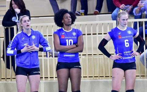 Volleyball Bundesliga Frauen | Saison 2018.2019 | 17. Spieltag | VC Wiesbaden - Rote Raben Vilsbiburg | 1:3