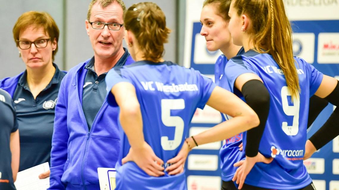 Archivbild: VCSW II - Volleyball 2. Bundesliga Süd Damen | 2018.2019 | 8. Spieltag |
