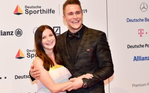 Alexander Wieczerzak mit Frau beim Ball des Sports. ©2019 Volker Watschounek