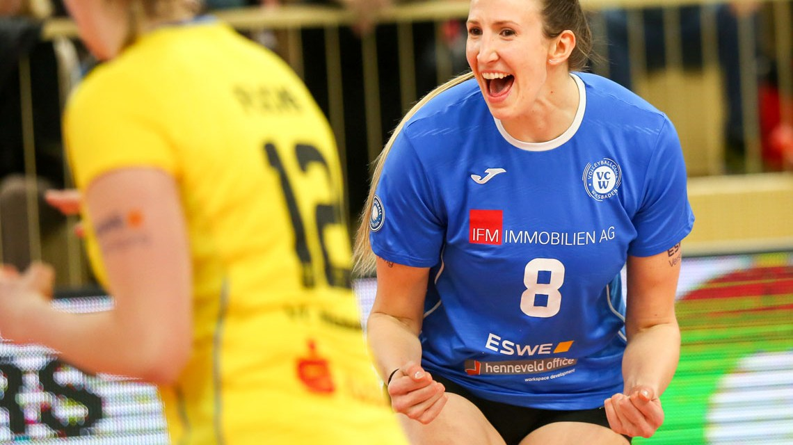 Jennifer Hamson Player of the Match. ©2019 Detlef Goittwald