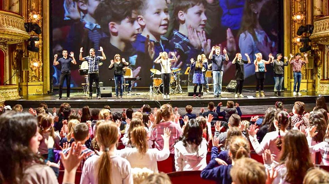 Liederinsel Singfest im Hessischen Staatstheater. ©2018 Volker vWatschounek