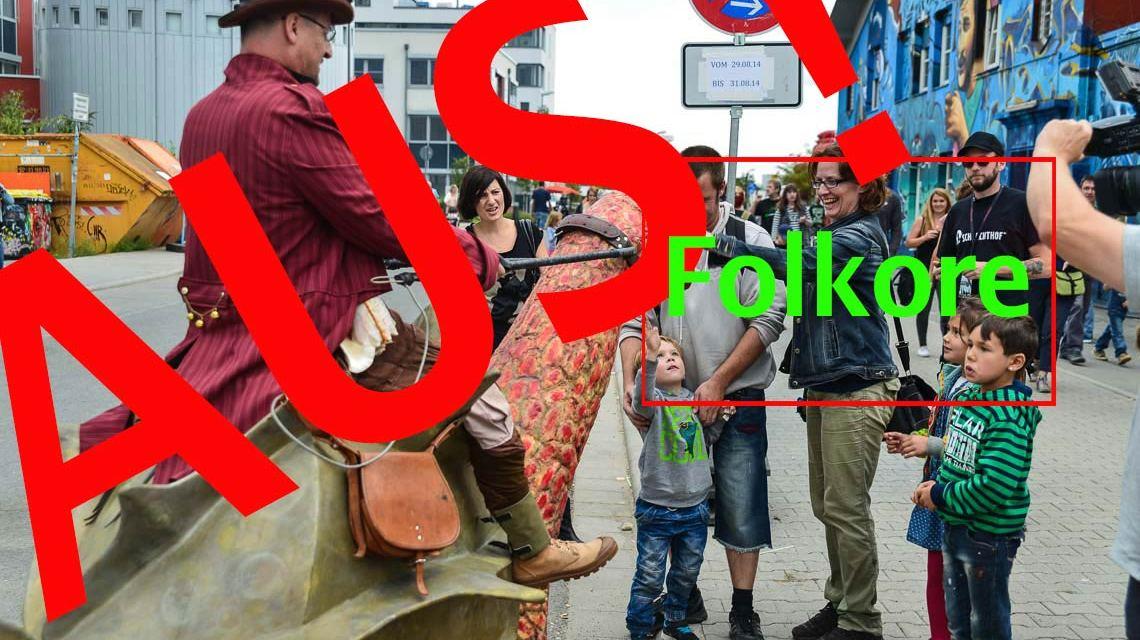 Folklore Festival 2014 auf dem Schlachthof Gelände ©2015 Volker Watschounek