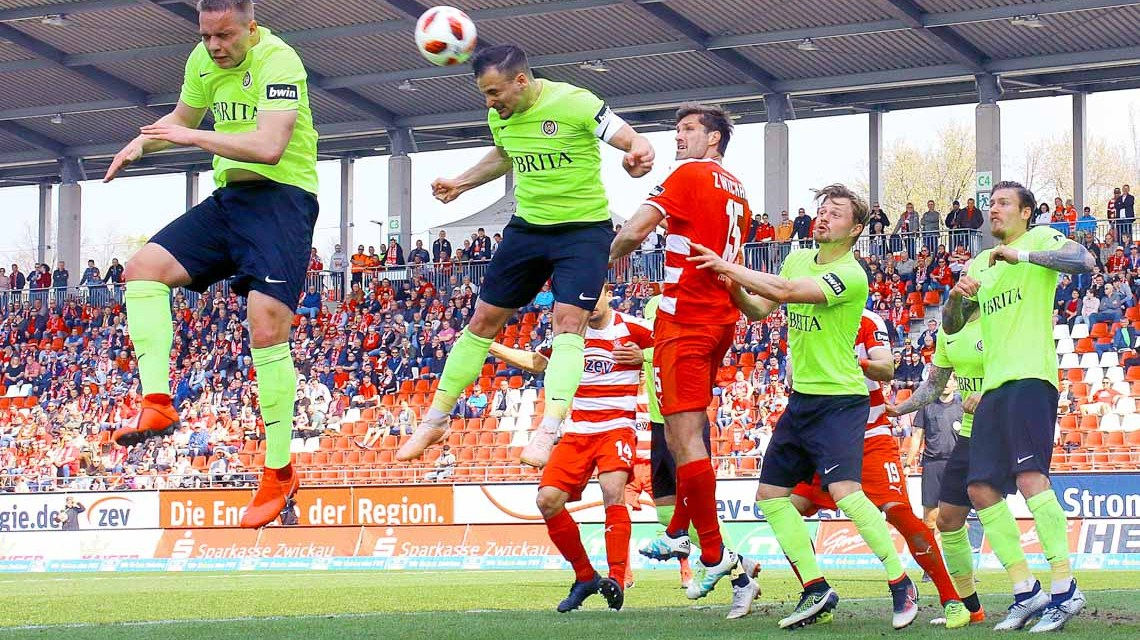 FSV Zwickau - SV Wehen-Wiesbaden ©2019 Frank Kruczynski