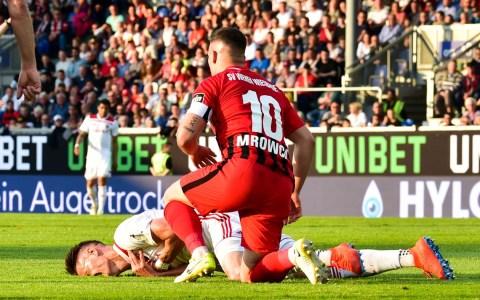 1. Relegationsspiel 2019 SV Wehen Wiesbaden - FC Ingolstadt 1:2 ©2019 Volker Watschounek