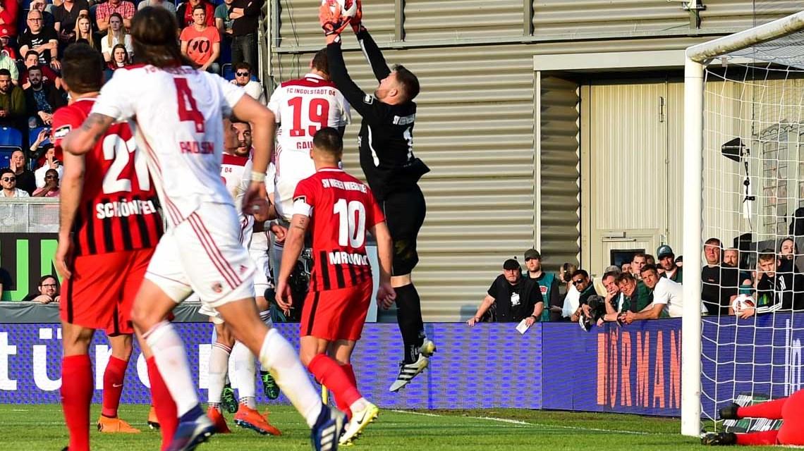 Relegation: Wiesbaden verliert gegen Ingolstadt