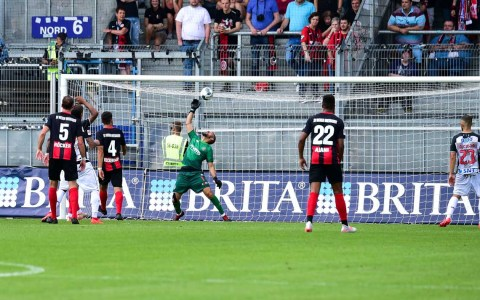 Freundschaftsspiel: SV Wehen Wiesbaden - Boavista Futebal Clube, Endeergebnis 3:0 ©2019 Volker Watschounek