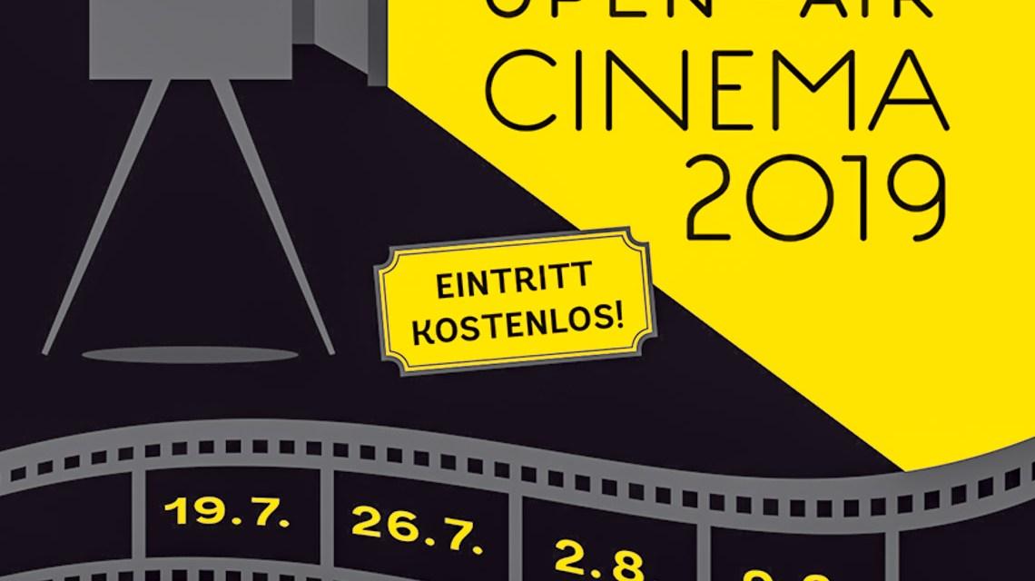 Open Air Kino in Wiesbaden Biebrich