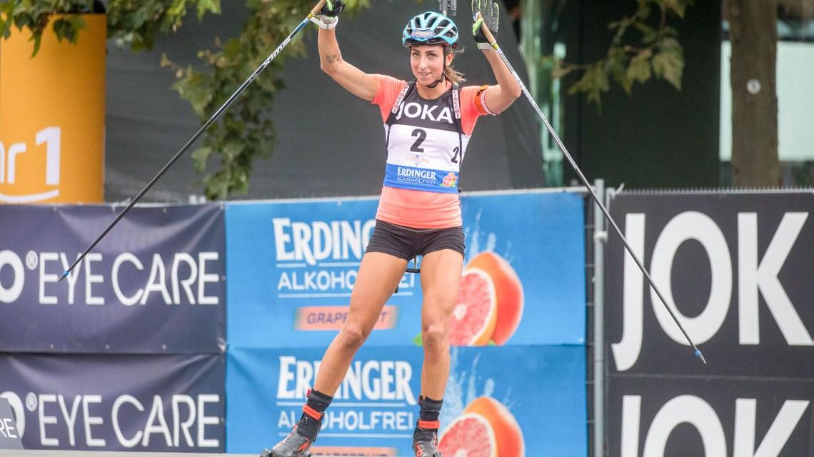 City Biathlon in Wiesbaden. ©2019 Norbert Wilhelmi