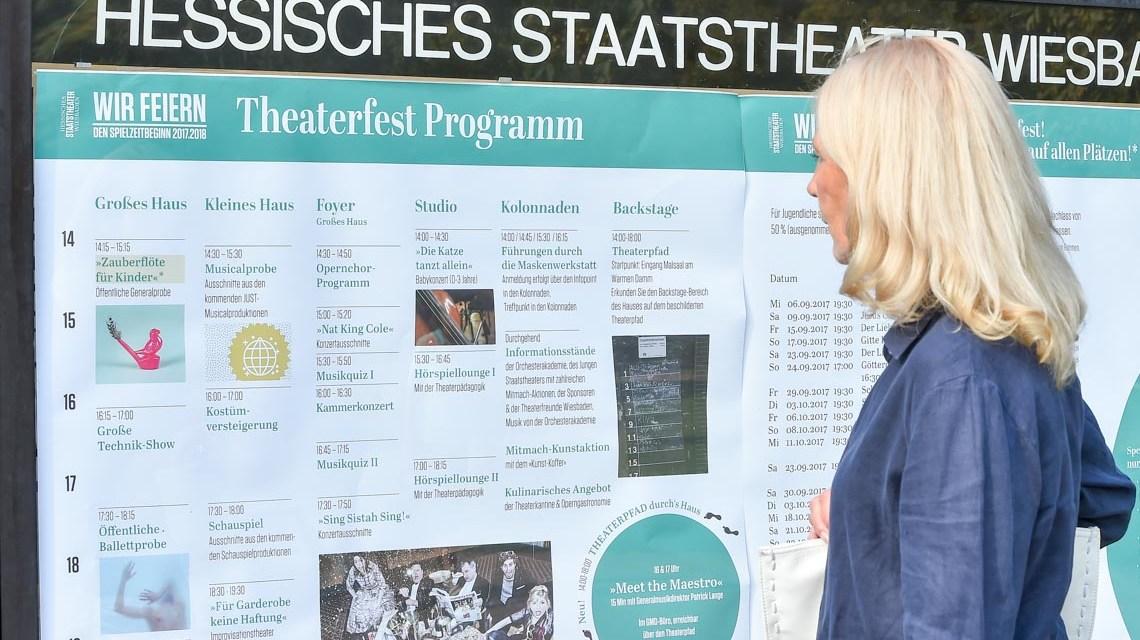 Theaterfest am Hessischen Staatstheater