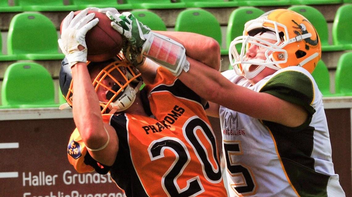 Die U19 der Wiesbaden Phantoms hat den Junior Bowl, das Endspiel um die Deutsche Jugendmeisterschaft, verloren.