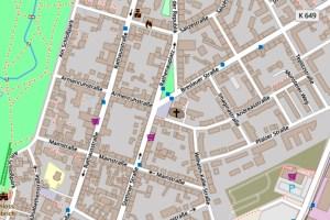 Armenruhstraße in Biebrich ©2019 Openstreetmap