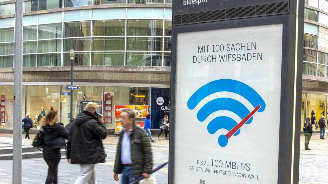 WiFi: Freies WLAN in Wiesbaden