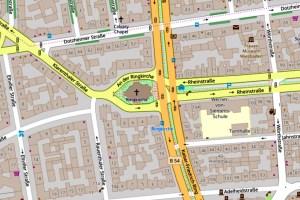 Klarenthaler Straße @2019 Openstreetmap