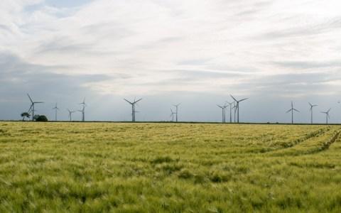 Windenergie, nachhaltig Umweltschinend