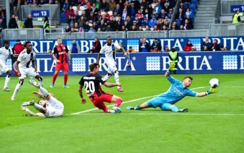 SV Wehen Wiesbaden - Hamburger SV, 2019/2020, 11. Spieltag, 2. Bundesliga, 1:1
