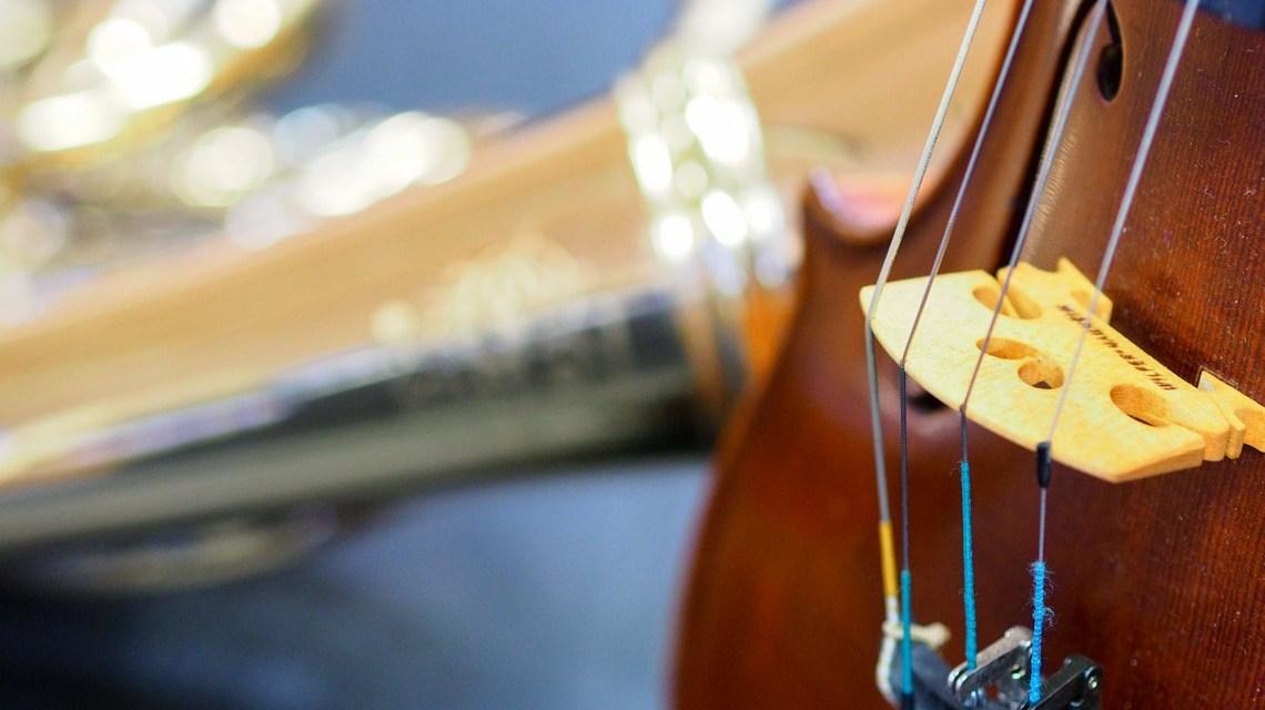 Horn und Geige