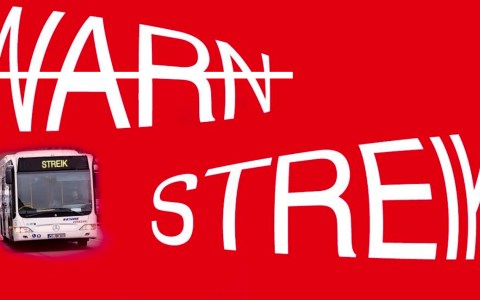 Unbefristeter Streik bei Busfahrern
