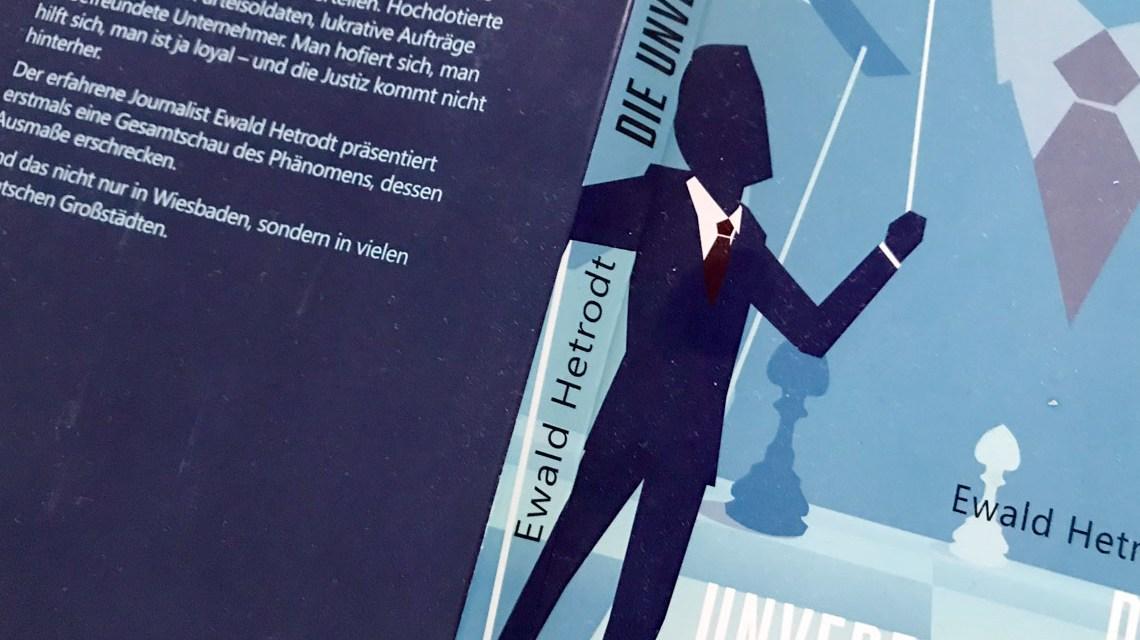 Postengeschacher in der Lokalpolitik: Ewald Hetrodt hat ein Netz von Politikern aufgedeckt.