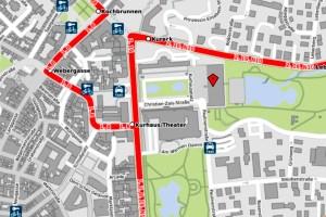 Kurhaus, Openstreetmap