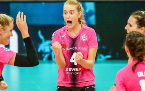 """VCW gewinnt """"Volleyball-Krimi"""" gegen den USC Münster"""