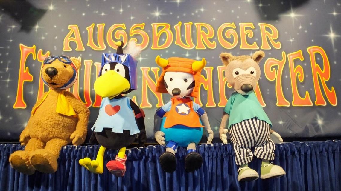 Augsburger Figurentheater, Donnerstag , Freitag und Samstag um 15:00 Uhr