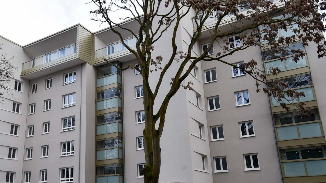 Archivbild: Neubauwohnungen durch Aufstockung Niederwaldstr. 46