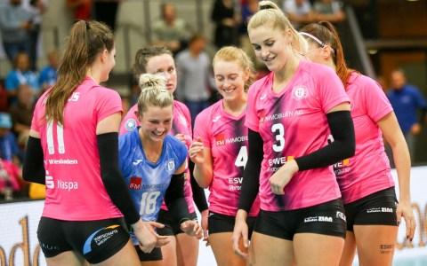1. Volleyball Bundesliga, Damen, 2019.2020, 12. Spieltag, SC Potsdam - VC Wiesbaden, 1:3