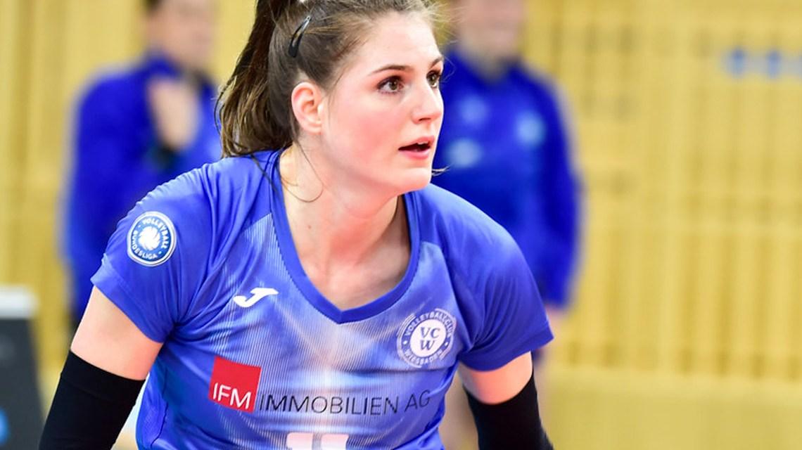 Frauke Neuhaus, VC Wiesbaden, Schwarz-Weiß Erfurt