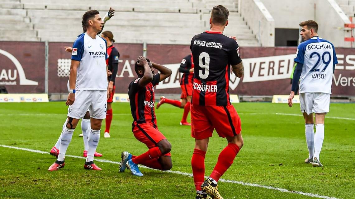 2019.2020, 2. Fußball Bundeliga, 21. Spieltag, SV Wehen Wiesbaden - VFL Bochum, 0:1