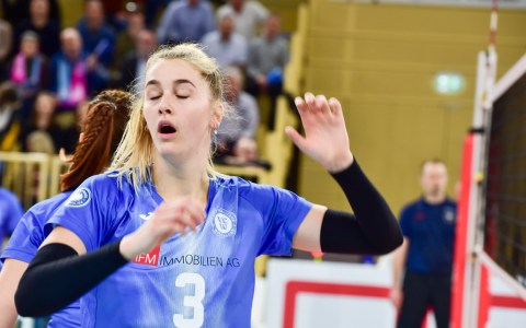 Volleyball BL, VC Wiesbaden - Rote Raben Vilsbiburg, 1:3a