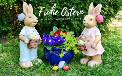Wiesbaden lebt! wünscht allen Frohe Ostern!