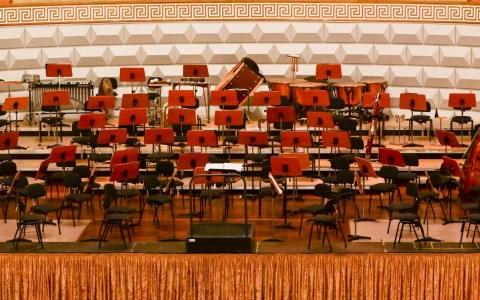 Archivbild: 1. Sinfoniekonzert im Kurhaus Wiesbaden