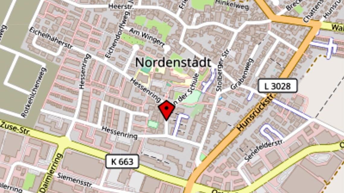 Hessenring Karte: Openstreetmap