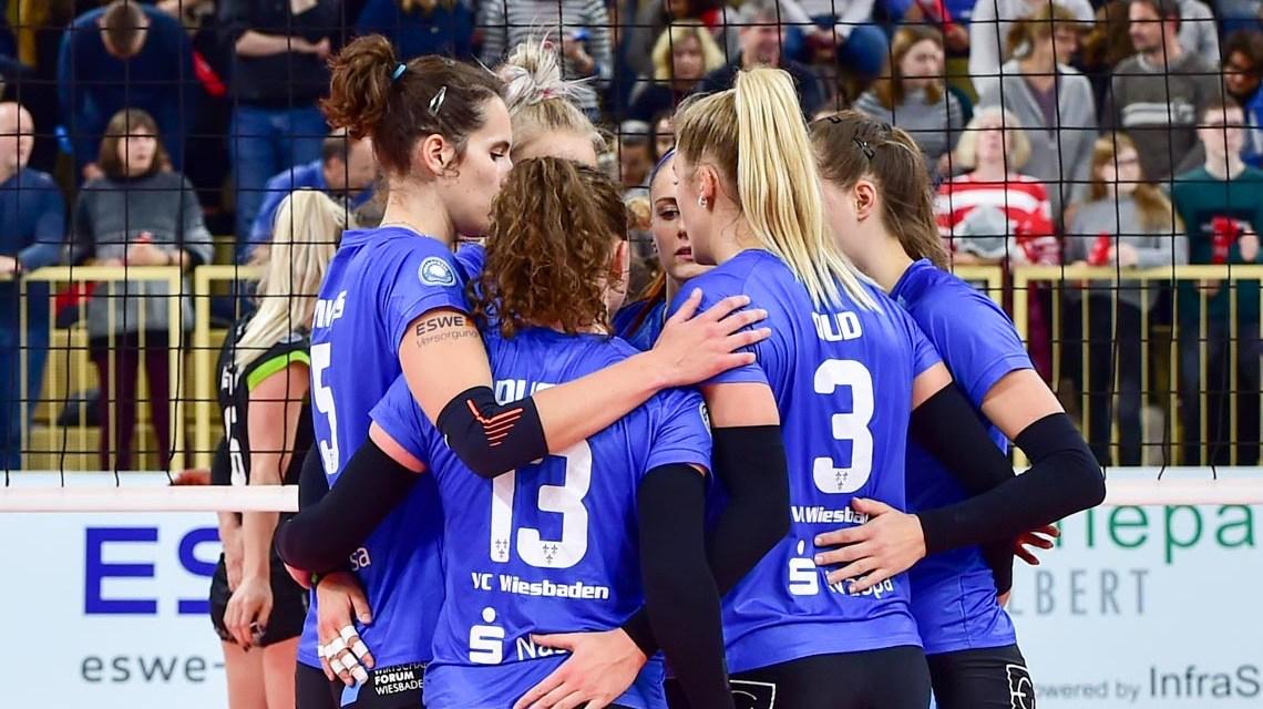 1. Volleyball Bundesliga Damen, VC Wiesbaden - Ladies in Black Aachen, 0:3