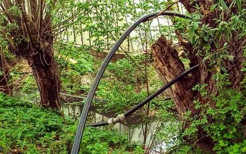 Umweltamt decken illegale Wasserentnahme auf