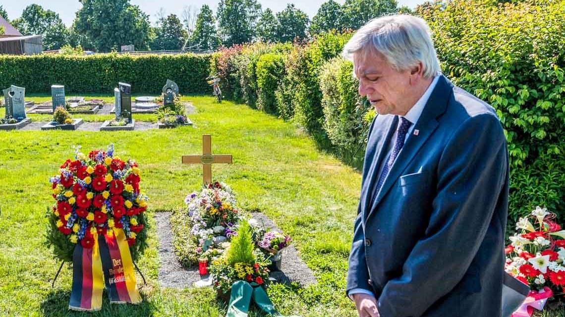 Gedenken an Dr. Walter Lübcke Volker Bouffier, ©2020 Hessische Staatskanzlei