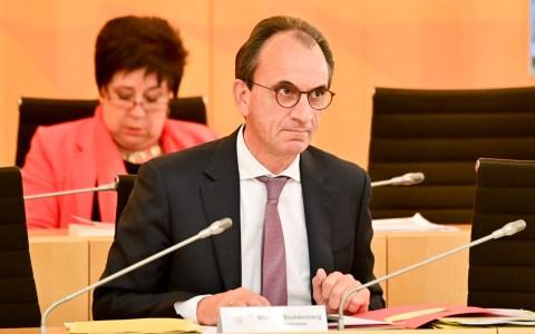 Fiinanzminister Michael Boddenberg