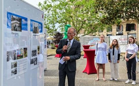 30 Jahre Deutsche Einheit, Ausstellung auf dem Kranzplatz