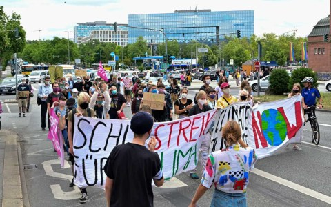 Fridays for Future zum Ferienstart