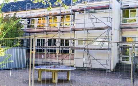 Die Kohlheckschule an der Kohlheckstraße wird saniert