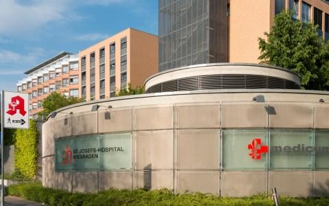 Besuchsregeln, St. Josefs-Hospital Wiesbaden Von Martin Kraft // photo.martinkraft.com