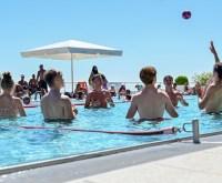 Opelbad lädt zu Wasserspielen ein
