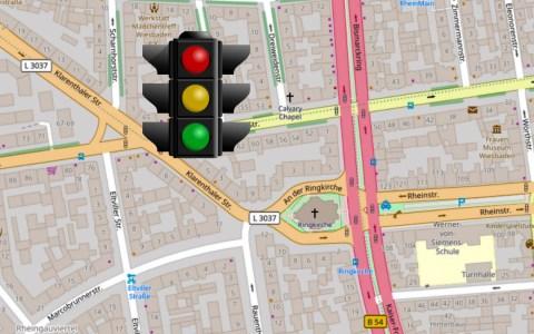 Klarenthaler Straße Ecke Dotzheimer Straße